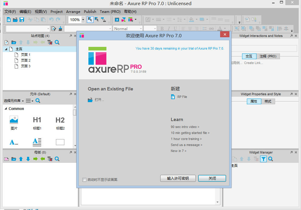 Axure RP Pro7.0